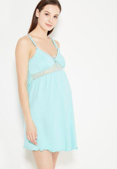 Сорочка для беременных, кормящих и в роддом Hunny Mammy