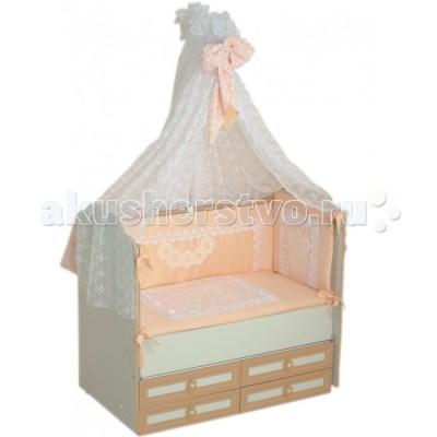 Комплект в кроватку Селена (Сдобина) Императорский (7 предметов)