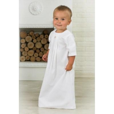 Alivia Kids Крестильная рубашка Жаккардовый хлопок 18.006.13