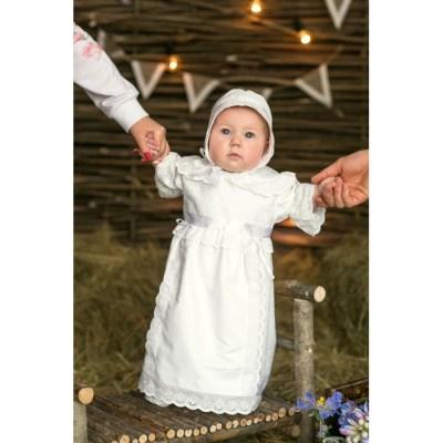 Alivia Kids Крестильный набор для девочки Воздушное шитье 15.253.13