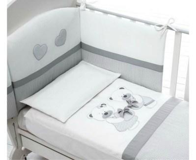 Комплект в кроватку Baby Expert Bon Bon (4 предмета)