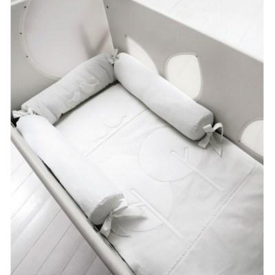 Комплект в кроватку Baby Expert Bosco для детской кроватки с окошечками (4 предмета)
