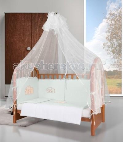Комплект в кроватку Esspero Gentle Bruin (6 предметов)