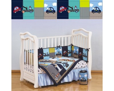 Комплект в кроватку Giovanni Shapito Transportation (7 предметов)