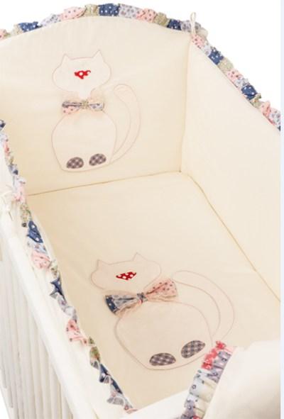 Комплект в кроватку Makkaroni Kids Toy Kitty 120х60 (6 предметов)