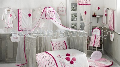 Балдахин для кроватки Kidboo Happy Birthday