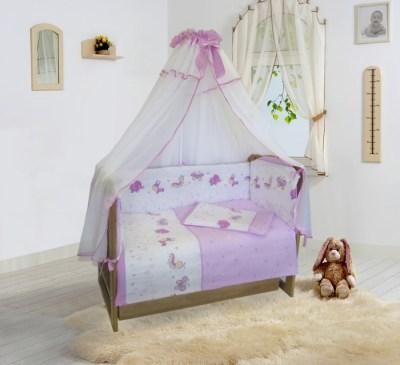 Комплект в кроватку Soni Kids Ласковое лето 20105 (7 предметов)