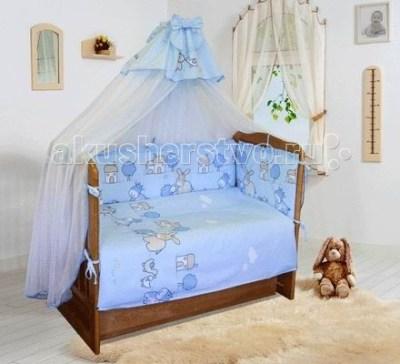 Комплект в кроватку Soni Kids Веселая ферма (6 предметов)