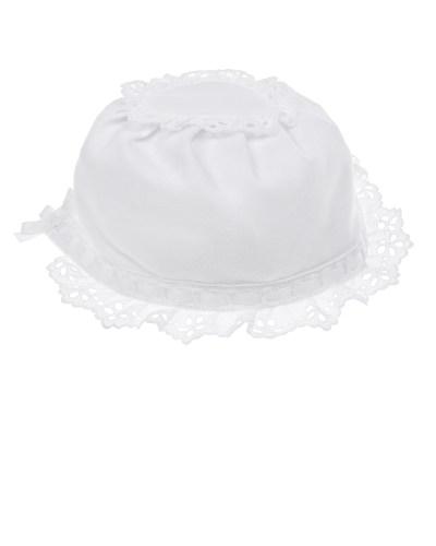 Чепчик с кружевным декором Aletta