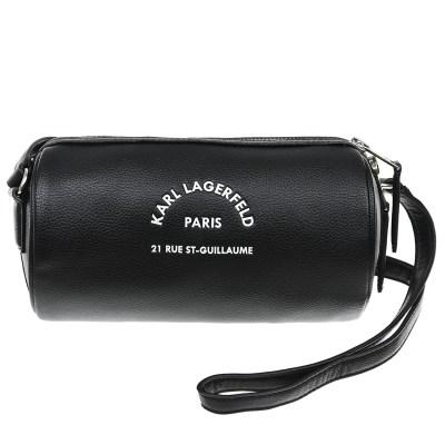 Черная сумка-футляр, 20x11x10 см Karl Lagerfeld Kids детская