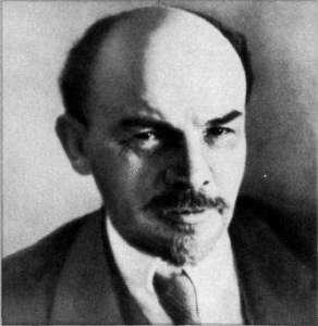 Портрет Ленина работы Моисея Наппельбаума