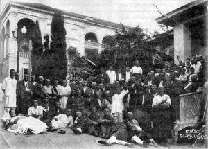 Первые раненые в Сочи
