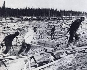 Первые заключенные советских лагерей