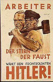 Агитационный нацистский плакат