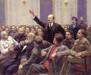 Вариант картины без Сталина
