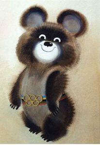 Талисман Олимпиады-80
