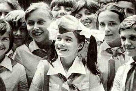 """Саманта Смит в """"Артеке"""". 1983 год"""
