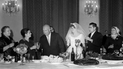 Свадьба Терешковой и Николаева
