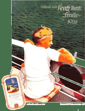 Реклама морских круизов от KdF