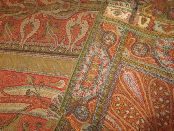 Антикварный индийский платок