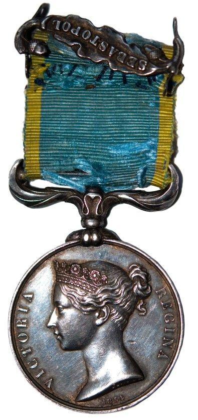 Krim_Medal za Krim_Anglia_1854_1