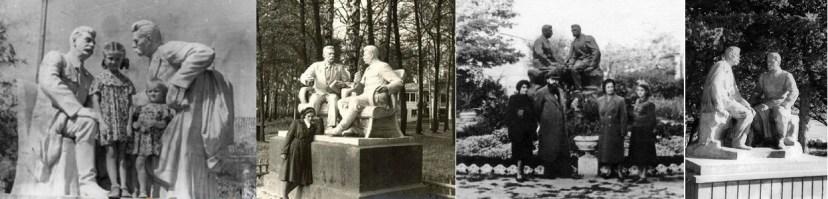 Памятники Горькому и Сталину: Измаил, Тула, Херсон, Артек