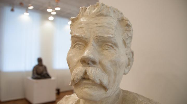 Итог восьми сеансов. Бюст находится в Музее С.Т. Коненкова в Москве