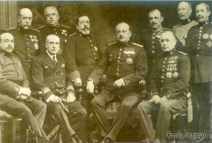 Правительство Мигеля Примы де Ривера, 1923 г. ФОто с сайте family-history.ru