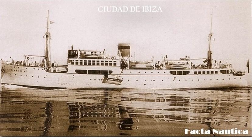 Испанская открытка. Владелец лайнера долго не хотел мириться с тем, что ему не удастся вернуть конфискованное имущество
