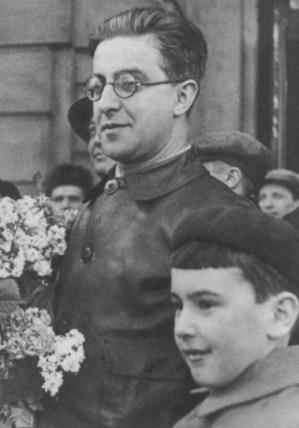Встреча на Белорусском вокзале в 1937 году