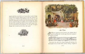 Второй акт. Детское издание оперы Кармен, 1938 г Нью-йорк.Гроссет & Данлэп (Гильдия Метрополитен-оперы)