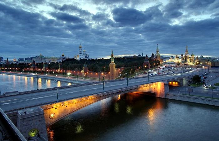 Москворецкий мост в наши дни.