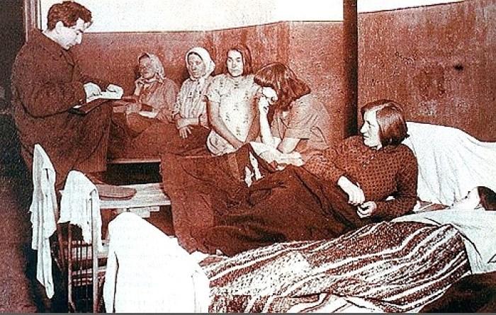Осужденные советские проститутки. 20-е годы