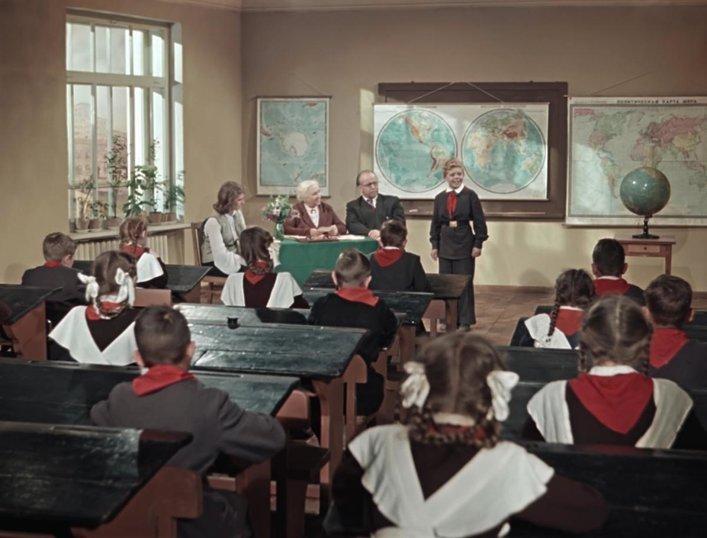 """Сцена из фильма """"Старик Хоттабыч"""", 1956 г."""