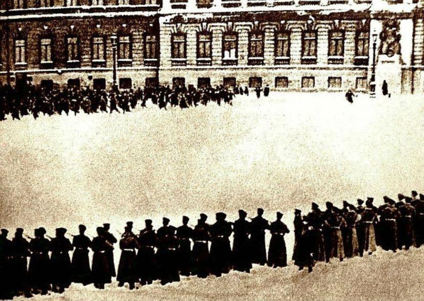 Кровавое воскресенье 1905 г. Кадр фотохроники