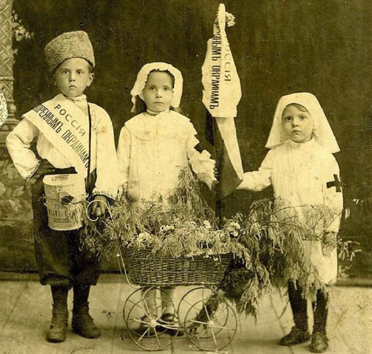 Кружечный сбор в Российской империи проводили даже дети