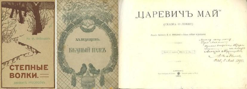 Некоторые дореволюционные издания Будищева