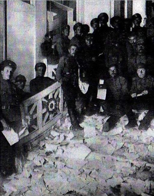 Разграбление особняка Ксешинской