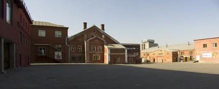 """Бывший пиво-медоваренный завод """"Московская Бавария"""" - нынешний Центр современного искусства """"Винзавод"""""""