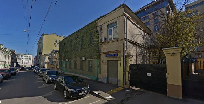 Вот в этом здании, если нумерация домов не изменилась, располагалась редакция Издательства общества бывших политкаторжан.