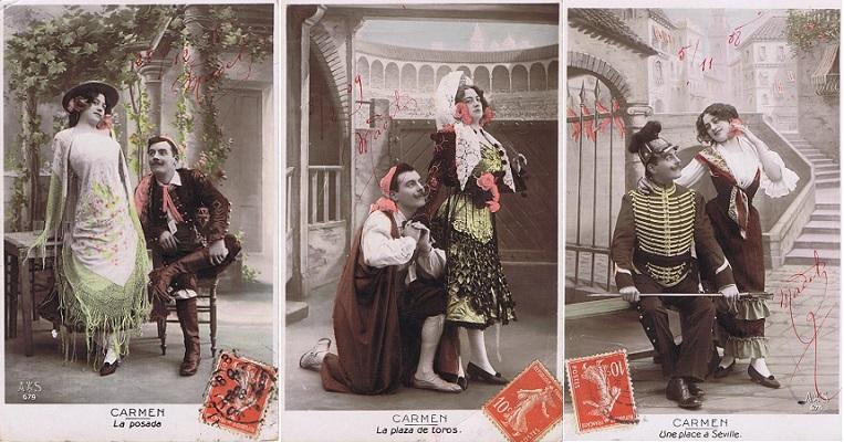 Открытки с кармен, открытки днем рождения