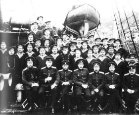 Команда ледокольного парохода «Таймыр». 1914 год