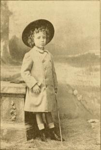 Альфонсо XIII в 1892 году