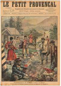 """""""Маленький провинциал"""" (Le Petit Provençal) № 26 от 20.11.1898, Обложка"""