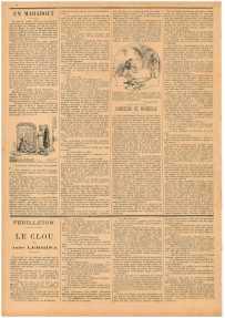 """""""Маленький провинциал"""" (Le Petit Provençal) № 26 от 20.11.1898, с. 4"""