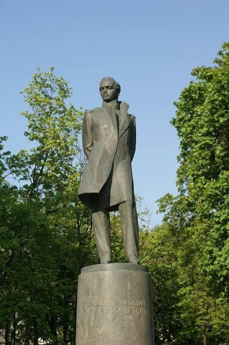 михаил юрьевич лермонтов, памятник, москва
