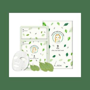 masque aux pétales de thé vert A BY BOM 2