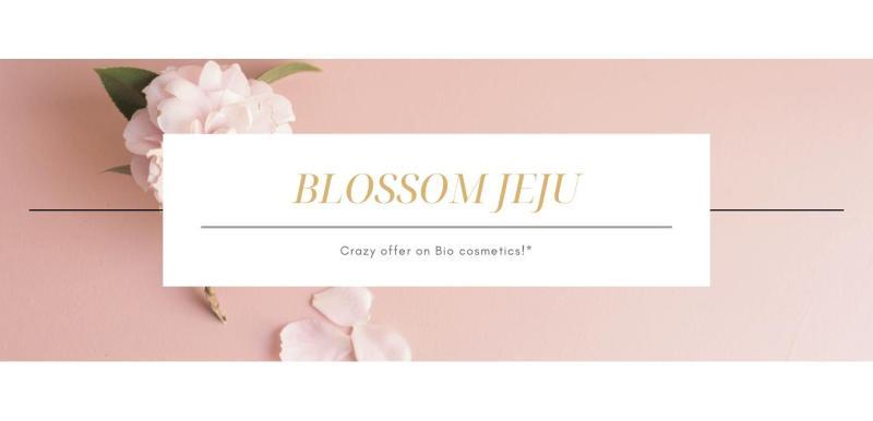 banner blossom jeju