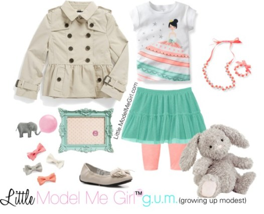 Growing Up Modest - G.U.M. - Little Model Me Girl