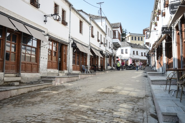Albania Gjirokaster Old Town